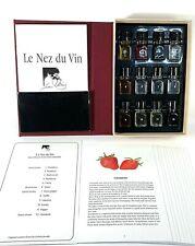JEAN LENOIR LE NEZ DU VIN BORDEAUX ROUGES LEARNING AROMAS 12 VIAL SET IN BOX