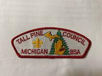 MINT CSP Tall Pine Council Michigan  S-1
