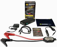 RUGGED GEEK RG1000 SAFETY EMERGENCY JUMP STARTER AND PORTABLE POWER SUPPLY