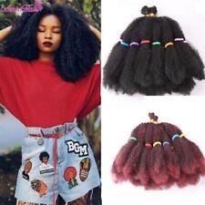 """Amir Marley Braids Hair Afro Kinky Bulk Synthetic Hair 14""""Crochet Braid Hair"""