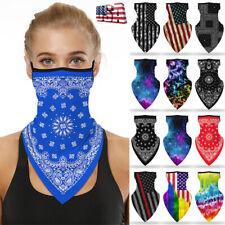 American Face Mask Bandana Tube Head Scarf Neck Gaiter Balaclava Mouth Cover
