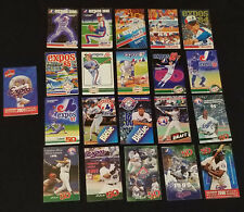 1980 to 2001 - MONTREAL EXPOS - MLB - SCHEDULES (21)