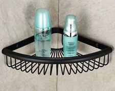Black Oil Rubbed Brass Bathroom Corner Shelf Soap Shower Caddy Shelves eba511