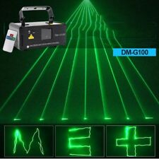 DMX 50mW Green Laser Stage Beam Scanner Christmas Decor Indoor stage Light show