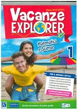 Vacanze explorer 1° matematica e scienze, Raffaello scuola, libro vacanze
