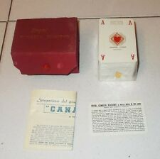 ROYAL CANASTA VIASSONE 1957 Nuovo 162 playing cards Alberto Anselmi Bridge Poker