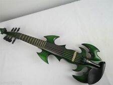 High quality Song Top streamline 7 strings 4/4 electric violin,green color