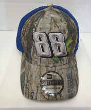 Dale Jr 88 Men's New Era 39THIRTY M/L Trucker Cap Hat Camo Neo