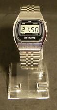 Vintage LCD Uhr um 1980, ungetragen, ETC Modell 10119, near mint,