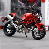 1:12 Ducati Monster 696 Assembly Kit Motorcycle Bike Model Toy New in Box Gift