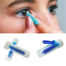 Suction Contact Lens Holder Stick Soft Hard Solid Hollow Inserter Remover Useful