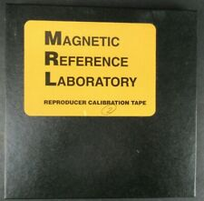 VINTAGE MAGNETIC REFERENCE LAB REPRODUCER CALIBRATION TAPE REEL TO REEL