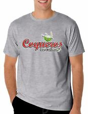 Baseball Coqueros de Colima T-Shirt for Men's Color Gray 100% Cotton