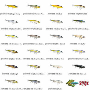 Strike King Topwater Sexy Dawg HCKVDSD Walking Bait Pick Any 23 Colors Lures