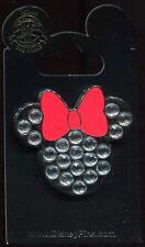 Minnie Mouse Icon Jeweled 2016 Disney Pin
