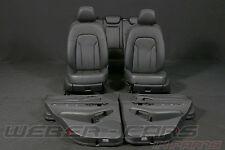ORIG. audi q5 8r cuero equipamiento asientos de piel cuero equipamiento interior normal seats