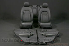 org Audi Q5 8R Lederausstattung Ledersitze Leder Innenausstattung normal seats