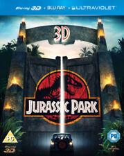 JURASSIC PARK  [Blu-Ray 3D + Blu-Ray + UV  ( BRAND NEW & SEALED )