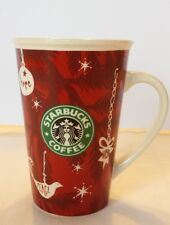 STARBUCKS 2010 Hope Peace Wish Cup Mug Christmas Coffee 10 oz.