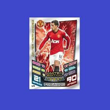 Match Attax Extra 2012 2013 Topps LE4 JAVIER HERNANDEZ Limited Edition 12 13