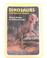 Discovery Toys DINOSAURS Animal Rummy Card/Learning Game Gift Toy Hard Case