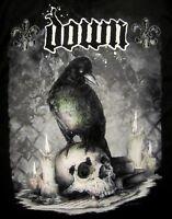 DOWN cd lgo JUMBO CROW / SKULL Official SHIRT XL New pantera Diary of a Mad band