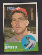1963  TOPPS  BASEBALL # 241  BILLY  SMITH  RC    EXMT+   CONDITION  INV 8527