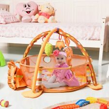 Bedroom Cartoon Baby Infant Activity Gym Play Mat Safety Fence Toys Hanging Us