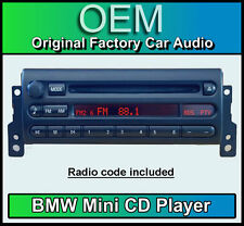 BMW Mini Cooper CD player, Mini CD53 car stereo Mini R50, R52, R53 radio unit