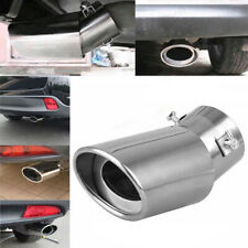 Universal Stainless Steel Chrome Car Pickup Exhaust Tail Muffler Tip Pipe Cover