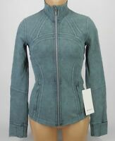 NEW LULULEMON Define Jacket 2 4 6 8 10 12 14 Washed Petrol Blue NWT FREE SHIP