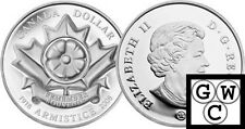 2008 Limited Edition Proof Silver Dollar - Poppy (High Relief) (12426)