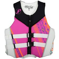 JET PILOT Wildcat Women's USCG Approved Life Vest Jacket Neoprene JP16204 Pink