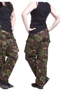 Ladies DPM Woodland Camouflage British Combat trouser,