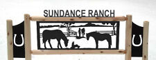 HORSES -  HORSE SIGNS - EQUESTRIAN - FARM AND RANCH -RODEO - SADDLES