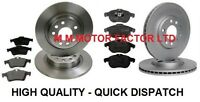 VAUXHALL VECTRA C + SIGNUM ALL MODELS FRONT and REAR BRAKE DISCS AND PADS SET