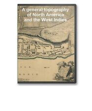 Topographical Atlas West Indies and North America on CD - B107