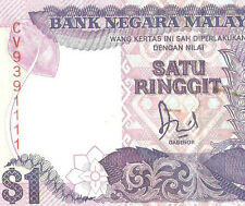 Offer Malaysia Jaffar Hussien banknote $1 prefix CV93941111 ! very nice