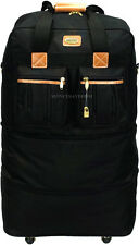 """30"""" Expandable Rolling Duffel Bag Wheeled Spinner Suitcase Luggage - Heavy Duty"""