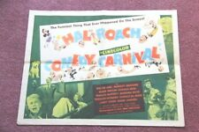 """Comedy Carnival"" Hal Roach 1947 original movie poster"