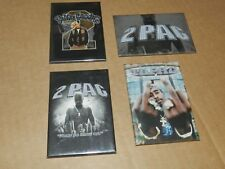 4 x Various 2 Pac Tupac picture Magnet Logo New Rap / Hip Hop