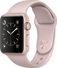 Open-Box Excellent: Apple - Apple Watch Series 2 42mm Rose Gold Aluminum Case...