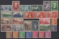 BR141321/ FRANCE / LOT YEAR 1937 MINT MNH CV 208 $