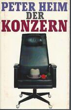 Peter Heim, Der Konzern. Roman Gebundene Ausgabe Bertelsmann Verlag M7