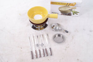 BOSKA KäseFondue Set Cheesy Für 6 Personen Fondue 1L Käse Gelb 853513