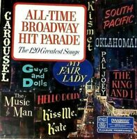 READERS DIGEST DYNAGROOVE ALL-TIME BROADWAY HIT PARADE 10 LP RECORD SET RCA