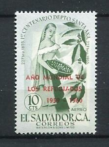 27339) El Salvador 1960 MNH New Refugee 1v