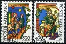 Città del Vaticano 1980 SG#751-2 ST. Alberto MAGNO usato CTO Set #D59169