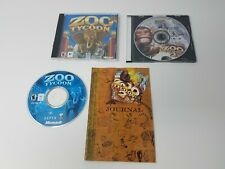Zoo Tycoon 1 and Zoo Tycoon 2 Mac Games Discs Only + Zoo Tycoon 2 Manual!