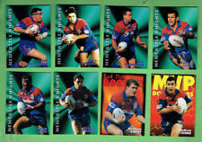 1997  RUGBY LEAGUE CARDS - NEWCASTLE KNIGHTS